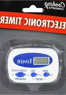 Cooking Concepts Blue Digital Kitchen Electronic Timer
