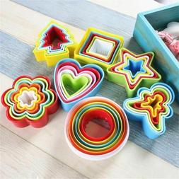 Cake Mold 5 Pcs/6 Pcs Set Cookie Cutter Biscuit Fondant DIY