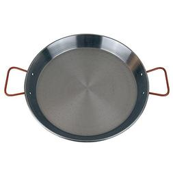 MageFesa Carbon Steel Paella Pan, 9 Inch