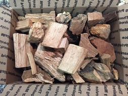 Cherry Wood Chunks for Smoking BBQ Grilling Cooking Smoker F