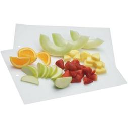 White-Clear Cooking Concepts Flexible Chopping Mats, 2-ct/.