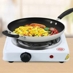 Commercial Portable Electric Single Hot Plate Burner 1000 Wa