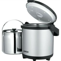 Thermos Cook  Carry System - Stainless Steel/Black - 4.7 Qt
