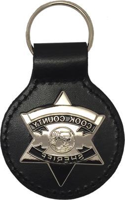 COOK COUNTY SHERIFF STAR KEY FOB: Deputy / Officer
