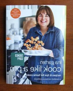 """""""Cook Like A Pro"""" by Ina Garten  - Signed, First Edition / P"""