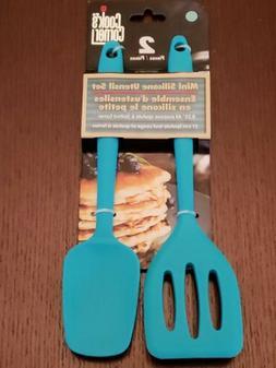 Cook's Corner 2-Piece Mini Silicone Utensil Set - Spatula /