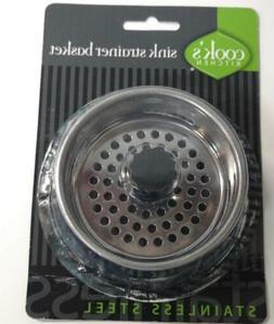 Cook's Kitchen Sink Strainer Basket, Stainless Steel - Torn