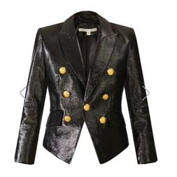 Veronica Beard Cooke Faux Patent Leather Jacket Size 2