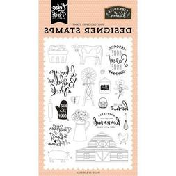Cooking Farmhouse Kitchen HOME CLEAR Rubber Stamps Set Echo