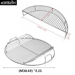 "Cooking Grate Warming Rack for Weber 22.5"" One-Touch Master-"