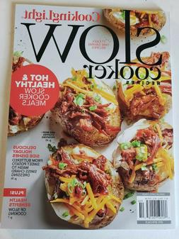 COOKING LIGHT SLOW COOKER RECIPES JANUARY 2020 BRAND NEW MAG