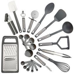 23 Piece Cooking Utensil Set Stainless Steel Nylon Kitchen G