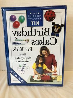CREATIVE ACTIVITY BIRTHDAY CAKES FOR KIDS KIT RECIPE BOOK PA