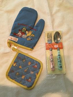 Cutlery Oven Mit Pokemon and 3 COINS Limited Cooking Japanes