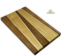 Cutting BoardChopping Block Wood: Walnut & Acacia Hardwood