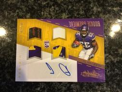 Dalvin Cook 2017 Absolute Football Rookie Premiere Rookie Qu