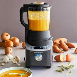 Pampered Chef Deluxe Cooking Blender 8 Settings Self Clean F