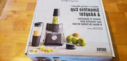 Pampered Chef - Deluxe Cooking Blender Smoothie Cup & Adapte