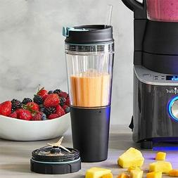 PAMPERED CHEF~Deluxe Cooking Blender Smoothie Cup & Adapter