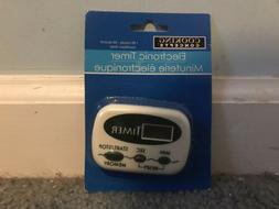 Cooking Concepts Digital Electronic Kitchen Timer with Alarm