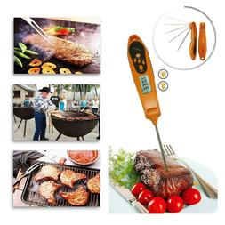 Digital Food Thermometer Instant Read Probe Kitchen Cooking
