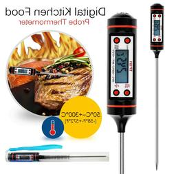 Digital Food Thermometer Probe Temperature Kitchen Cooking B