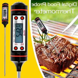 Digital Food Thermometer Temperature Probe Cooking Meat BBQ