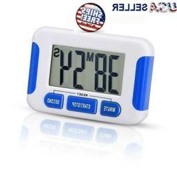 Digital Kitchen Timer Magnetic Cooking LCD Large Count Down