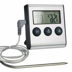 Remote Digital Cooking Meat Thermometer with Probe For Grill