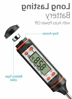 Digital Meat Cooking Thermometer Kitchen Food Candy Oil Gril