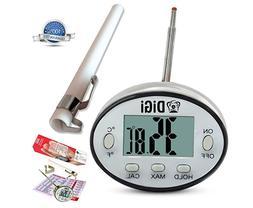 Digital Meat Thermometer Cooking Tool Kitchen Food BBQ Liqui