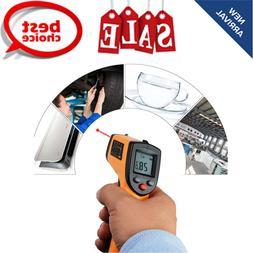 Digital Temperature Gun Non Contact Infrared Thermometer Las
