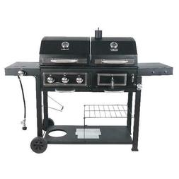 RevoAce Dual Fuel Gas & Charcoal Combo Outdoor Grill Fire Pi