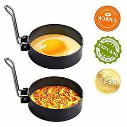 Egg Ring Mold For Cooking, Stainless Steel Egg Cooker Rings