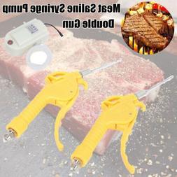 Electric Meat Saline Syringe Pump Gun Electric Injector Meat