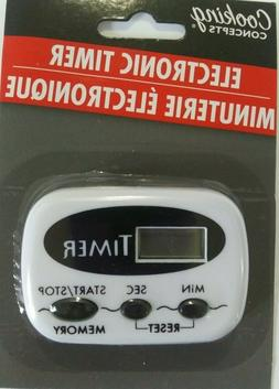 Cooking Concepts Electronic Kitchen Digital Timer Brand new
