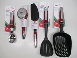 KitchenAid Epicure kitchen utensils in empire red