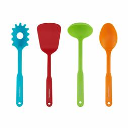 Faberware Color Series Set of 4 Cooking ToolsRainbow Color