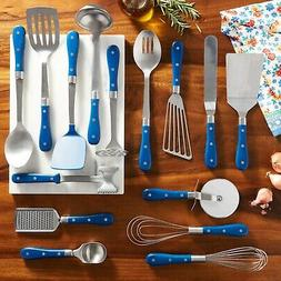 frontier collection 15 piece cooking utensil set