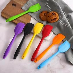 Silicone Scraper Spatula Heat Resistant for Cooking and Baki