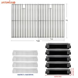 Gas Grill Heat Plate Cooking Grates For Nexgrill 720-0783E,