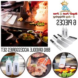 Griddle Accessory Tool Kit Flat Top Accessories BBQ Cook Set