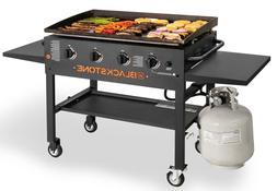"Griddle Cooking Station Ignition 36"" Versatile Button 4-Burn"