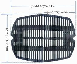 Grill Grate Cast-Iron Cooking Grates Replacement for Weber Q