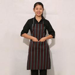 GC- TH_ Adjustable Bib Apron Dress Men Women Kitchen Restaur