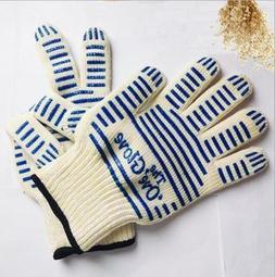 Heat Proof OVEN Mitt Glove Resistant Cooking Kitchen 540°F