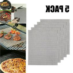 Home GRILL MAT BBQ Grill Mesh Mat Non-Stick Cooking Sheet Li