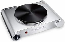 Hot Plate for Cooking Portable Electric Single Burner 1500W