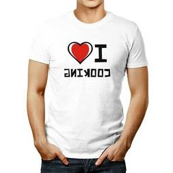 I love Cooking Bicolor Heart T-shirt