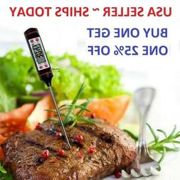Instant Read Digital Electronic Kitchen Cooking BBQ Grill Fo